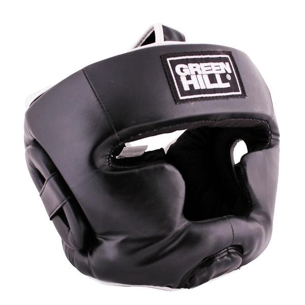 Шлем для бокса warrior, Черный Green Hill (HGW-4052)