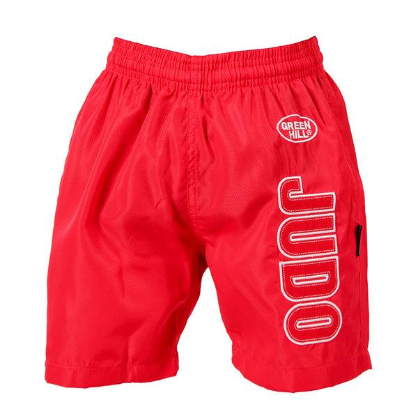 Детские шорты для дзюдо KIDS , Красный Green Hill