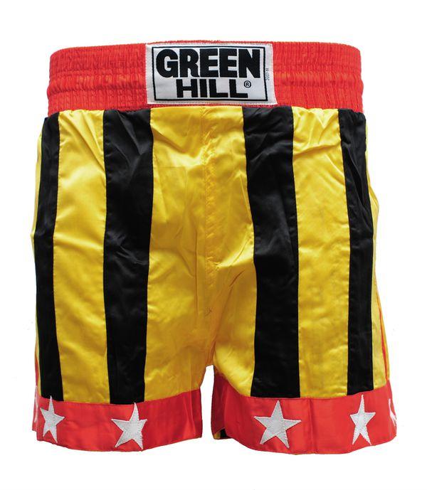 Шорты для тайского бокса germany Green Hill (KBS-8001)