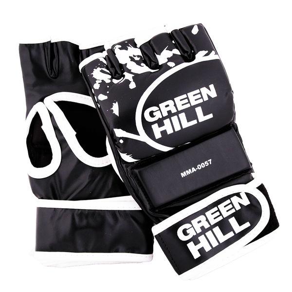Перчатки mma, Черный Green Hill (MMA-0056)