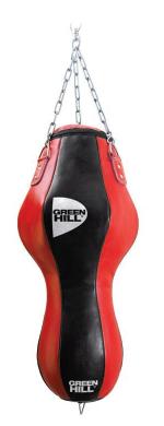 Мешок боксерский фигурный с подвесной системой Green Hill