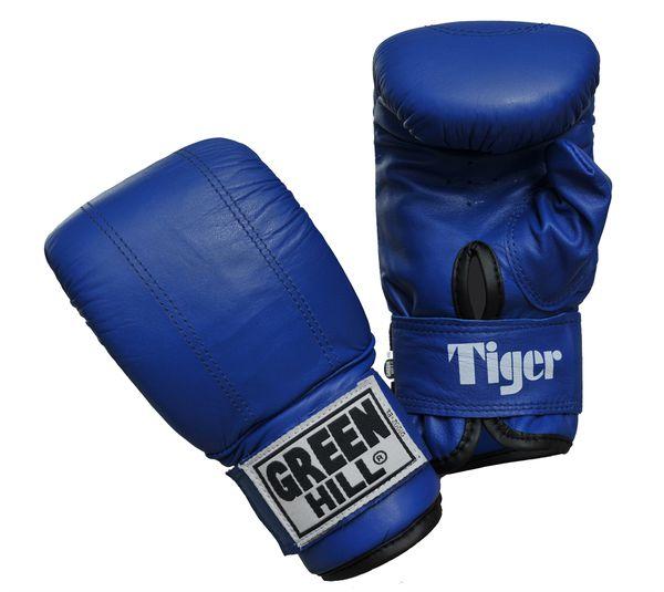 Перчатки снарядные tiger, Синий Green Hill (PMT-2060)