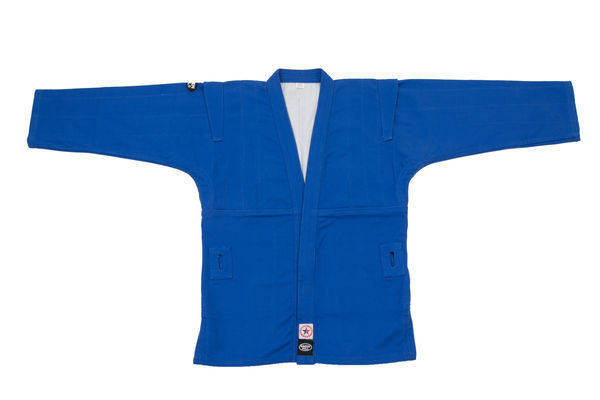 Куртка для самбо, Green Hill, лицензия фср, Синяя Green Hill (SC-2001)
