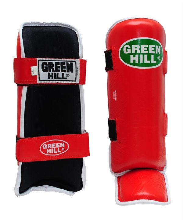 Защита голень + стопа somo, размер s, S Green Hill (SIS-0018)