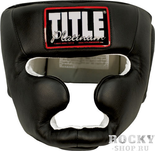 Боксерский шлем TITLE PLATINUM FULL FACE TRAINING HEADGEAR