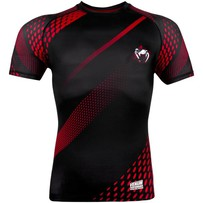 Рашгард Venum Rapid Black/Red S/S