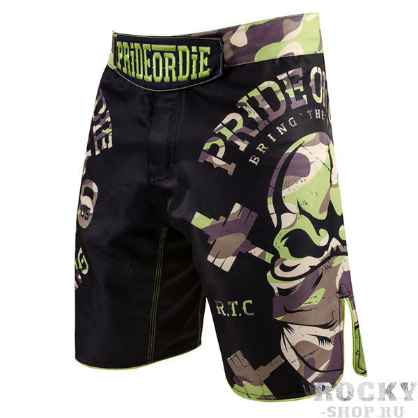 Шорты PRiDEorDiE Raw Training Camp Jungle Edition