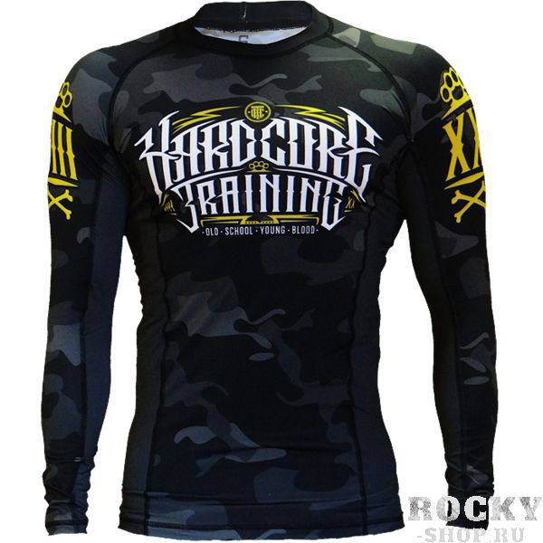 Рашгард Hardcore Training Night Camo