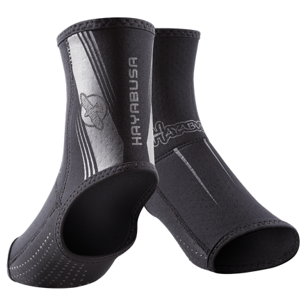 Голеностоп Hayabusa Ashi Footgrips Black Grey