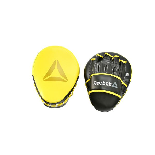 Лапы боксерские Reebok Retail Hook and Jab Pads - Yellow