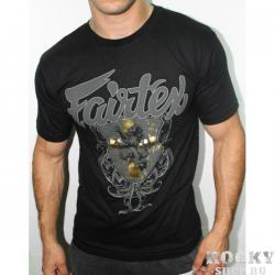 Футболка Fairtex golden crest