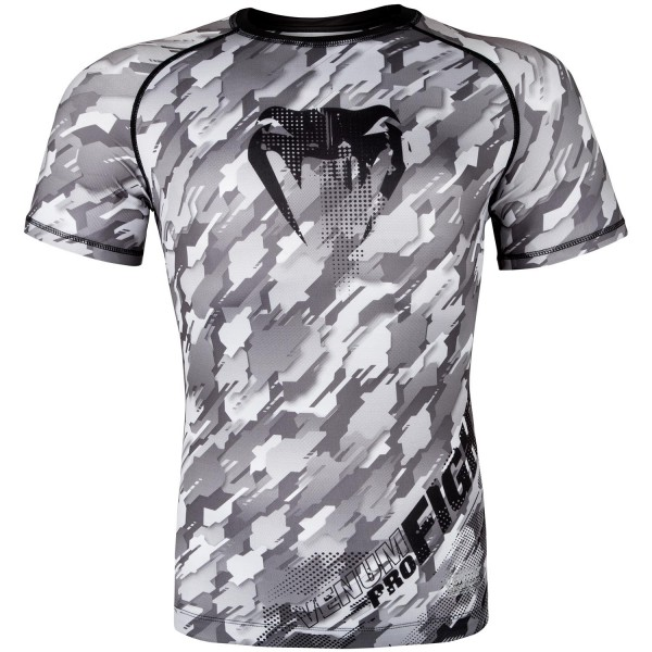 Рашгард Venum Tecmo S/S -Black/Grey