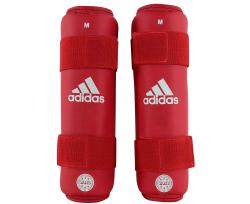 Защита голени WAKO Kickboxing Shin Guards красная