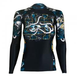 Женский рашгард Extreme Hobby skull rose l/s