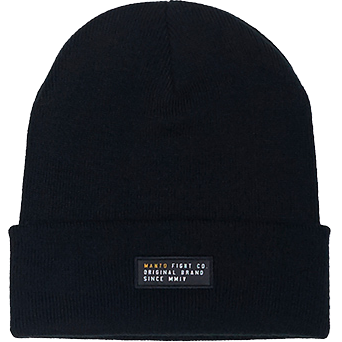 Шапка Manto Label Black