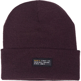 Шапка Manto Label Burgundy