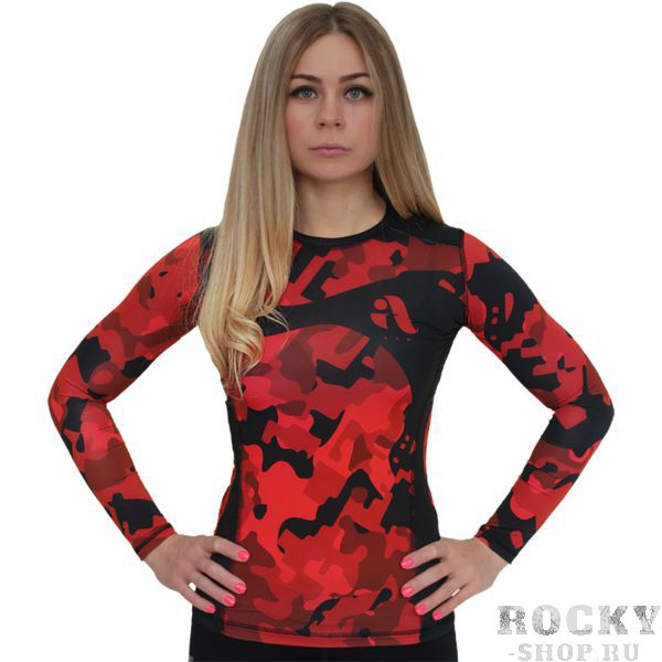 Женский рашгард Aim Military Uniqueness Skin Red
