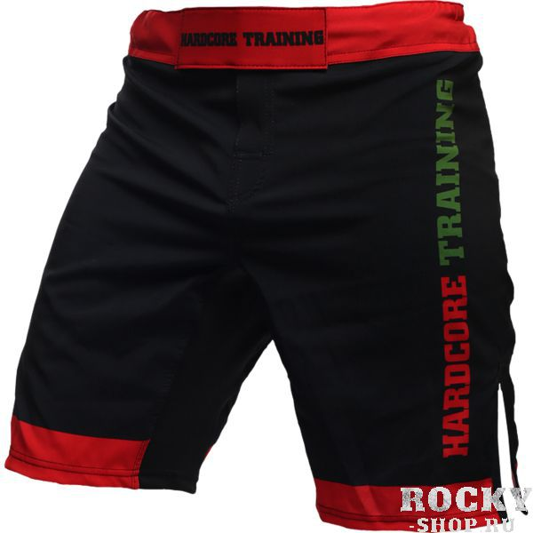 Шорты Hardcore Training Red-Green