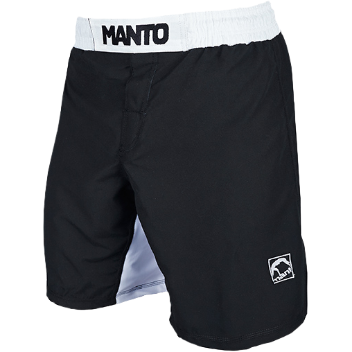 Шорты Manto Emblem Black/White