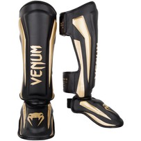 Щитки Venum Elite Black/Gold