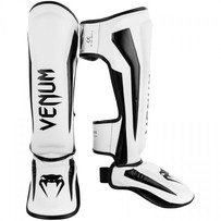 Щитки Venum Elite White/Black