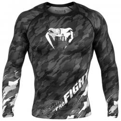 Рашгард Venum Tecmo Dark Grey L/S
