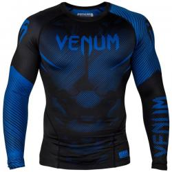 Рашгард Venum NoGi 2.0 Black/Blue L/S