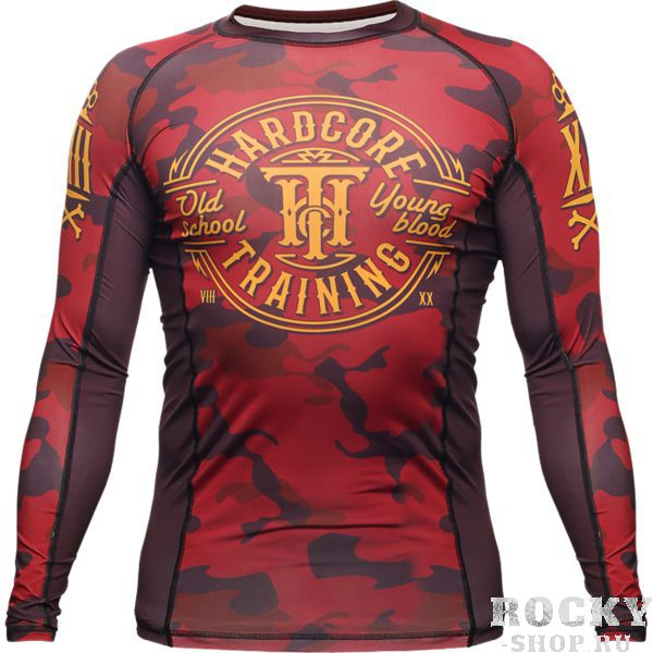 Рашгард Hardcore Training Red Camo