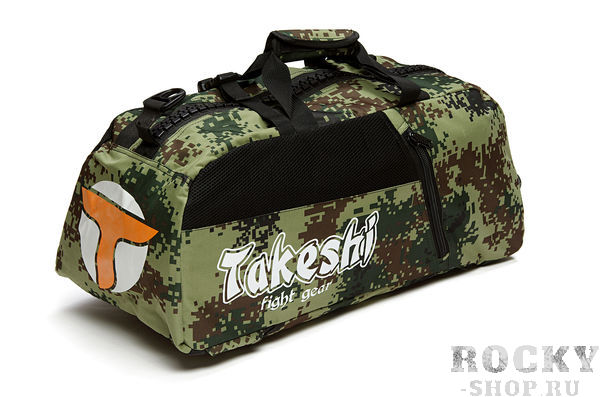 Сумка-рюкзак Takeshi Fight Gear Green