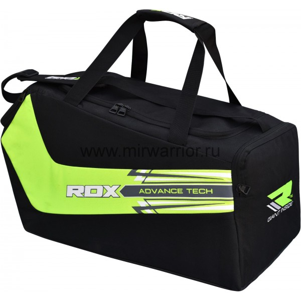 Сумка спортивная RDX Black/Green