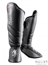 Щитки Hayabusa Tokushu Striking Shin Guard - Black