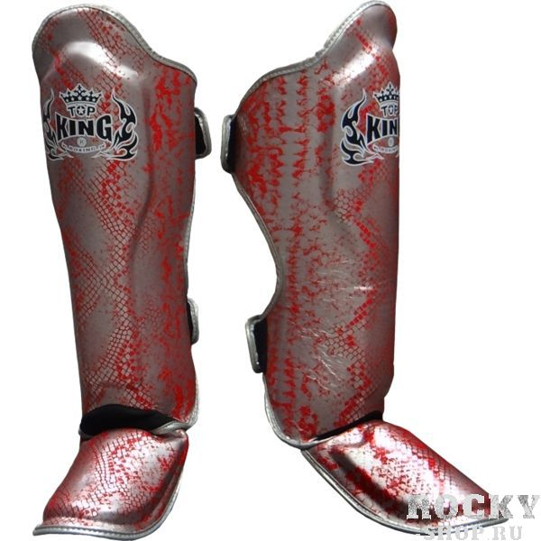 Защита Top King Boxing Snake Silver/Red