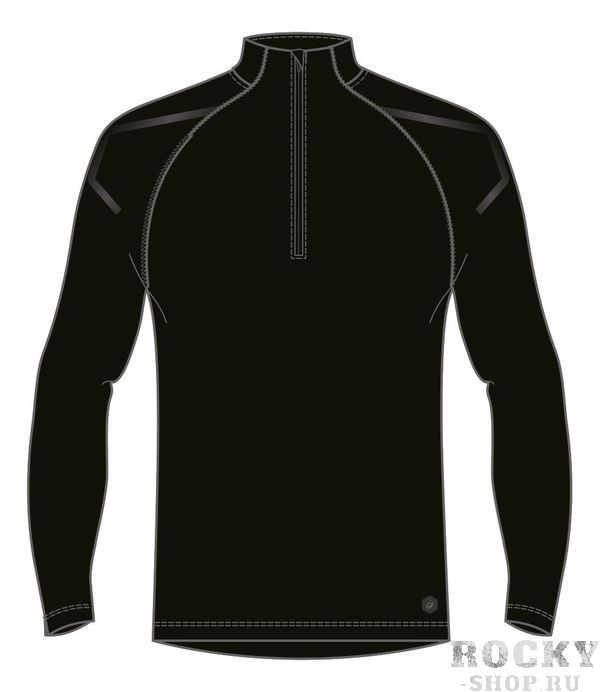 Рубашка беговая мужская ASICS 2011A257 0904 ICON LS 1/2 ZIP TOP