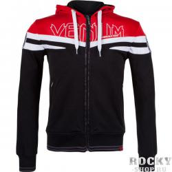 Толстовка Venum «Sharp Wand» Hoody  - Black/Red