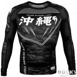 Рашгард Venum Okinawa 2.0 Black/White
