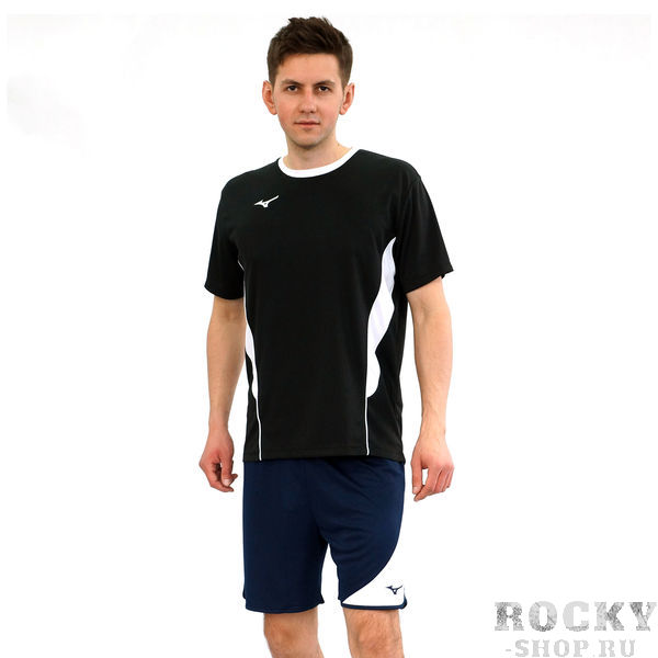 Мужская волейбольная футболка MIZUNO V2EA7001 09 AUTHENTIC HIGH-KYU TEE HIQ