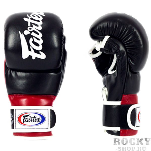 Перчатки для ММА Fairtex Alistair Overeem Black/Red
