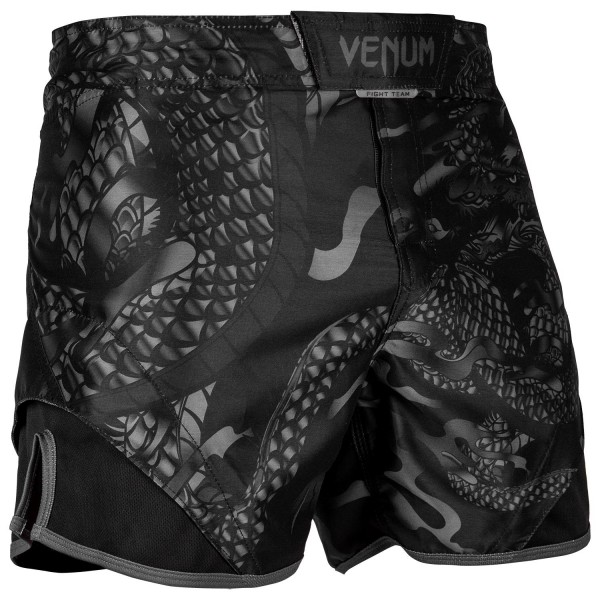 Шорты ММА Venum Dragons Flight Black/Black