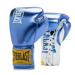Боевые перчатки Everlast 1910 Classic Metallic Blue
