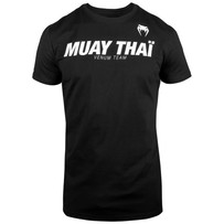 Футболка Venum Muay Thai VT Black/White