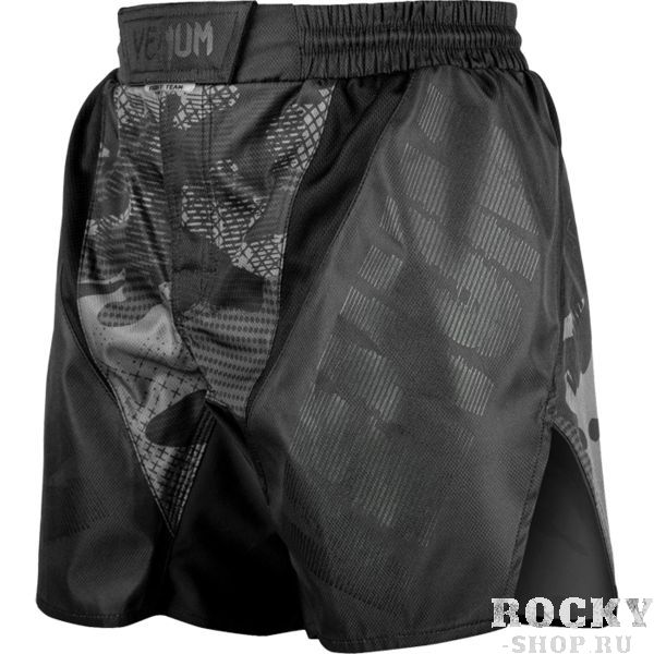 ММА шорты Venum Tactical Forest Camo/Black-Black