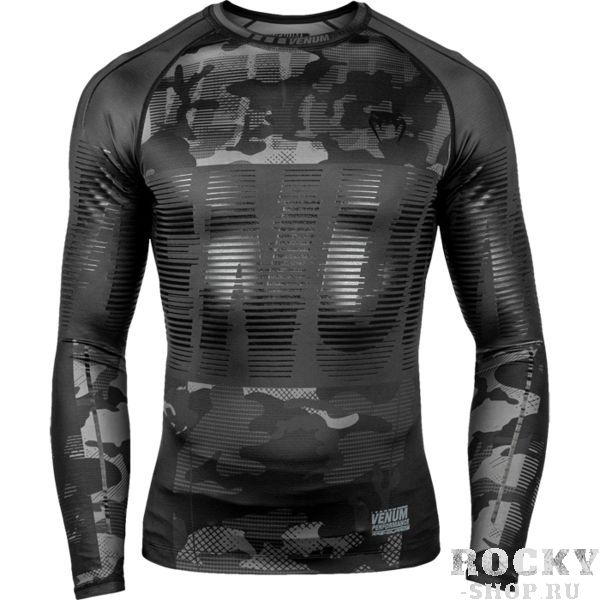 Рашгард Venum Tactical Urban Camo/Black-Black