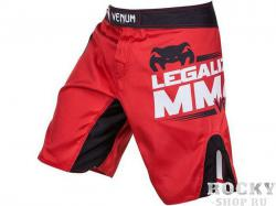 Шорты ММА Venum Legalize MMA Red