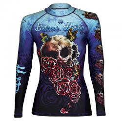 Женский рашгард Extreme Hobby New skull rose l/s