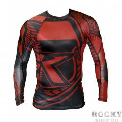 Рашгард Contract Killer Red/Black Rashguard L/S