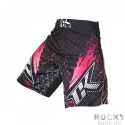 Шорты ММА Contract Killer Stained S2 Shorts - Black/Pink