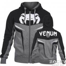 Толстовка Venum VENUM «SHOCKWAVE 3.0» HOODY - GREY/BLACK