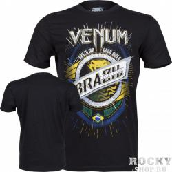 Футболка VENUM «KEEP ROLLING» T-SHIRT - BLACK