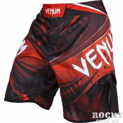 "Шорты Venum ""Galactic"" Fightshorts Black/Red"