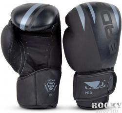 Перчатки для бокса Bad Boy Pro Series Advanced Boxing Gloves Black/Grey